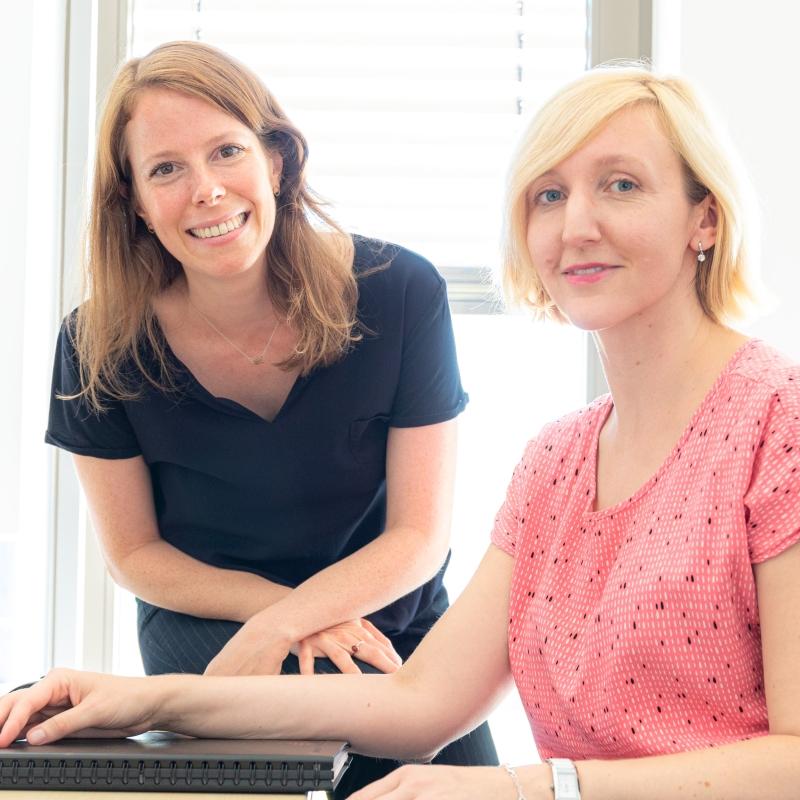 Susanne Stöck und Daniela Hartmann, Geschäftsstelle Kreativwirtschaft Hessen