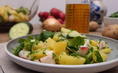 Winterliche Rezepte: Weihnachtlicher Kartoffelsalat