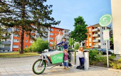 E-Lastenräder zum Leihen