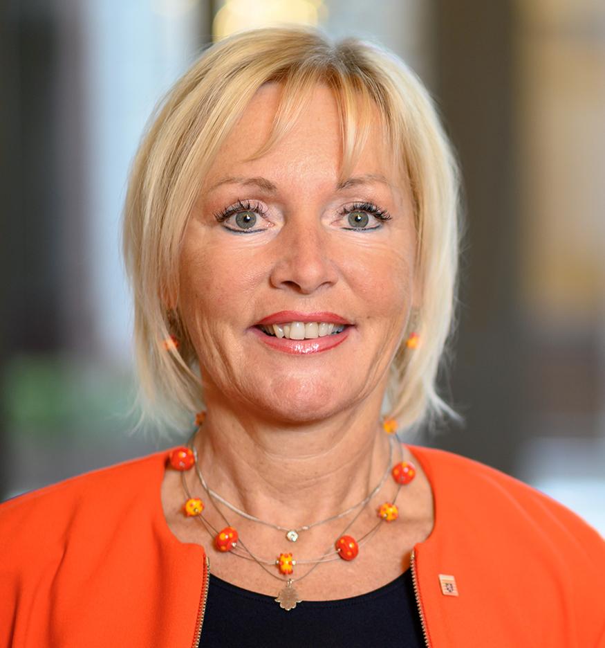 Prof. Dr. Kristina Sinemus, Hessische Ministerin für Digitale Strategie und Entwicklung.