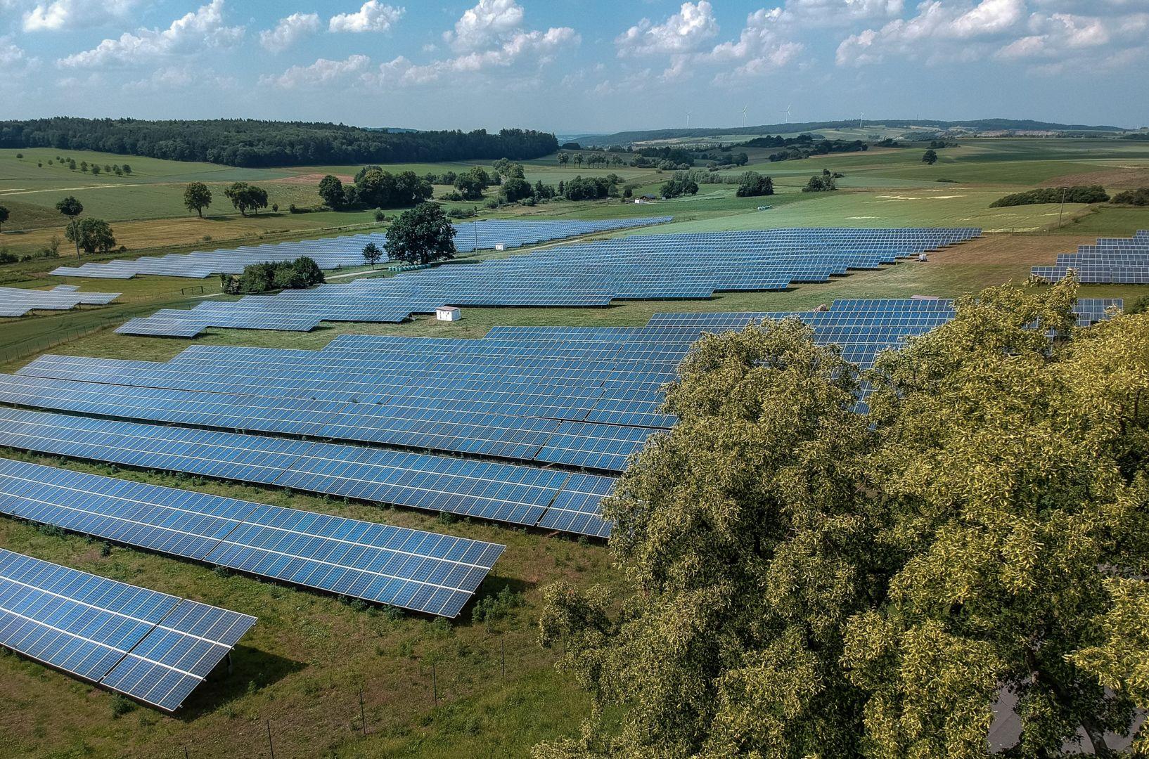 Solaranlage in Lauterbach